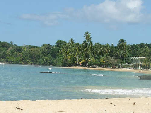 Mount Urvine beach, Tobago