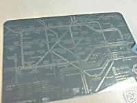 Silver tube map
