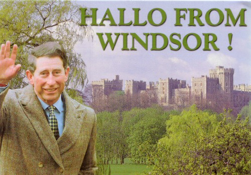 Hallo from Windso!