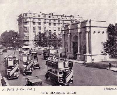 London: the marble arch